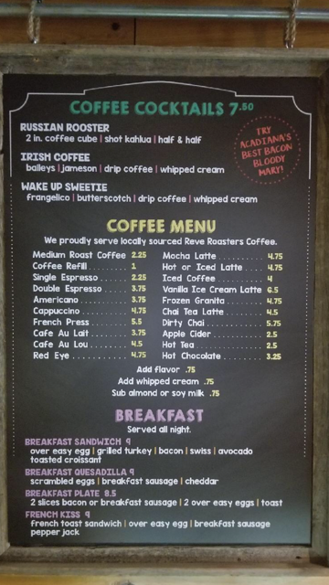 1 coffee cocktails